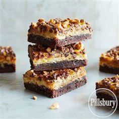 #Chocolate Toffee #Brownie Bars from Pillsbury® Baking