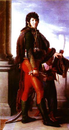 """""""Joachim Murat, mariscal de Francia del ejército napoleónico, rey de Nápoles y cuñado de Napoleón I"""" (Anónimo). Más en www.elgrancapitan.org/foro"""
