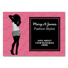 chic fashion boutique Business Cards. This is a fully customizable business card and available on several paper types for your needs. You can upload your own image or use the image as is. Just click this template to get started!