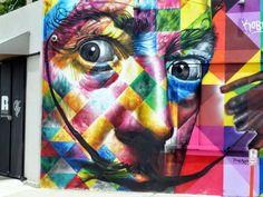 Salvador Dali - Eduardo Kobra // photo @vidos - mai 2014 - street-art-avenue