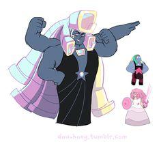 Bismuth & Rose Quartz