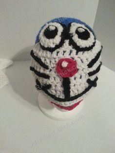 Doraemon the Anime Cat Character Hat Crochet Pattern (11)