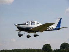 My favourite aircraft Tecnam P2002JF, landing at Hilversum