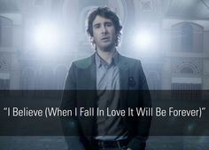 Josh Groban - I Believe (When I Fall In Love It Will Be Forever) [Official Music Video], via YouTube.
