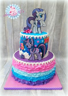 My Little Pony Dessert Table Theme Party Decorations