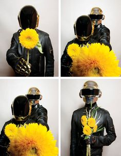 """Daft Punk original pinned said:"""" *OMG for me?!?! X) X3 <3 :3* *DIES* <3"""" her comment was so funny! :)"""