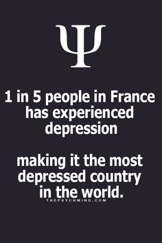 Maybe because they see so many couples in Paris on their honeymoons. It reminds them that they are lonely.