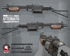ArtStation - romero's aftermath - makeshift shotgun, Kris Thaler