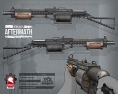 ArtStation - romero's aftermath - makeshift shotgun, Kris Thaler
