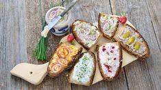 Pomazánky z tvarohu, masové i vajíčkové. Recepty na pomazánky na každou party Avocado Toast, Tofu, Food Inspiration, Dips, Food And Drink, Appetizers, Treats, Cheese, Snacks