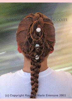 Single photo 37, braids for kids