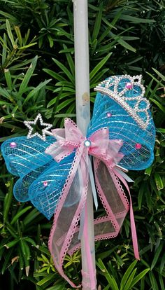 Cinderella easter candle lambada with crown and wand $ 25 Decorated Candles, Easter Candle, Greek Easter, Palm Sunday, Easter Ideas, Christening, Wands, Cinderella, Projects To Try