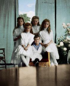 Imperial children: Tatiana, Anastasia, Olga, Alexei and Maria Anastasia Musical, Princess Anastasia, Tsar Nicolas, Tsar Nicholas Ii, La Familia Romanov, Romanov Sisters, Princesa Real, Anastasia Romanov, House Of Romanov