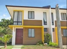 Yumi a 2-Storey Duplex  Bare: Php 1.7M  Finished: Php 2.1M