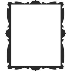 kTs_Black&White30.png ❤ liked on Polyvore featuring backgrounds, frame, borders, effect and picture frame