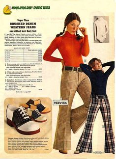 "Sears Catalog 1973 - ""super flare"". The ""Lemon Frog Shop"" was no doubt the product of much focus testing and fine-tuning."