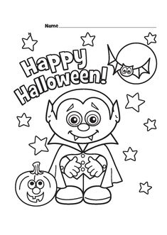 Halloween Coloring Pages Pdf Printable Halloween Coloring Pages