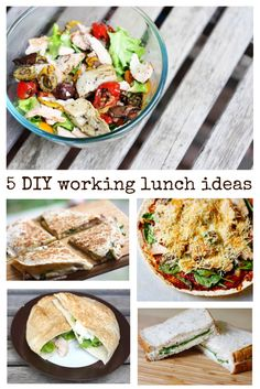 5 yummy lunch ideas Yummy Lunch, Just Eat It, Desk, Lunch Ideas, Cravings, Tacos, Life, Healthy Eating, Writing Table