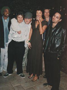 Helena Christensen | Photography by Dewey Nicks | For Marie Claire Magazine US | March 1997 #helenachristensen #deweynicks #marieclaire #1997