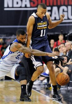 Sean Kilpatrick and Dante Exum : Exciting photos from the NBA Summer League