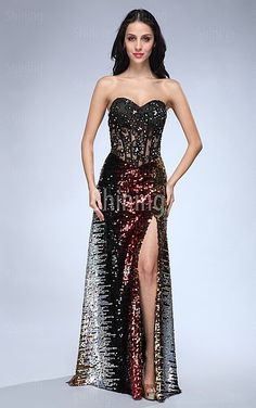 taylor wants this dress for prom!!!!       Multi Colours A-line Floor-length Sweetheart Dress