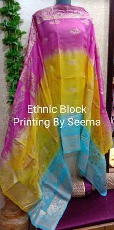 Block Painting, Punjabi Suits, Printing, Hand Painted, Boutique, Fabric, Clothes, Design, Tejido