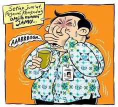 Mice Cartoon, Rakyat Merdeka - Desember 2014: Wajib Minum Jamu
