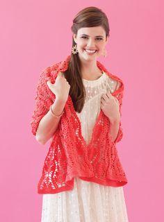 Sari Shawl | crochet today