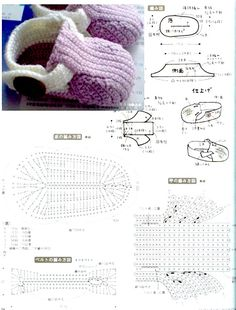 crochet tuto slippers (23)