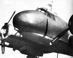 Piaggio P-108A (1944) with 102mm cannon (Schneider-Armstrong-Ansaldo 102/35 Mod. 1914). P-108A successfully passed flight tests but didn't see active service due to capitulation of Italy. One aircraft was evacuated to Germany, where it was destroyed in Allied bombing raid