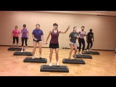 Korie's Step - Top-Trends Step Aerobic Workout, Stepper Workout, Aerobics Workout, Exercice Step, Step Aerobics, Best Cardio, Sweat It Out, Gym Time, Trends