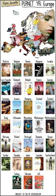 Books of Europe!