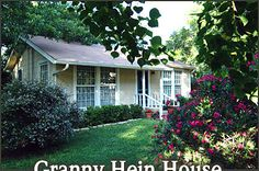 Granny Hein House Bed Breakfast Fredericksburg Texas Bed Breakfast TX Hill Country Love this place...lovely accommodations, and the best hosts you could ask for!