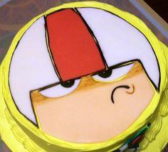 Kick Buttowski cake