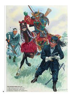 Japanese History, Modern History, Art History, Military Art, Military History, Guerra Boshin, Satsuma Rebellion, Boshin War, Samurai Concept