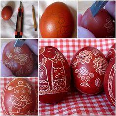 DIY Uniquely Decorated Easter Eggs 3