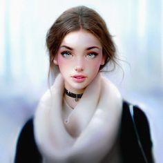 Phenomenal Digital Portraits Painted by Irakli Nadar - Imgur