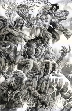 """Marvel Comics' """"Legion of Monsters"""" By Wolfpact!"""