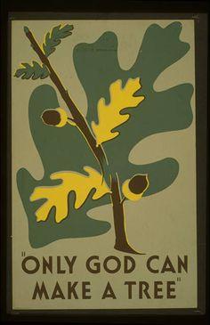 WPA vintage poster