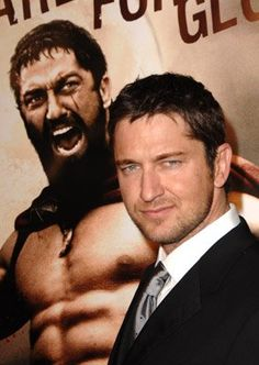 Gerard Butler at event of 300...can't wait for the next movie!