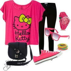 For girls who still love Hello Kitty