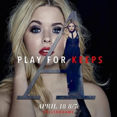 """11.9k Likes, 113 Comments - Pretty Little Liars (@prettylittleliars) on Instagram: """"Play for keeps. #PLLEndGame"""""""
