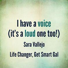 #getsmart #speakup #empowering #voices #women #memtoring Mentor Quotes, Original Quotes, The Voice, The Originals, Life, Women, Women's
