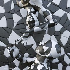 The puzzle approach - digital scultpure by adam martinakis