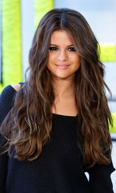 Beautiful Long Messy Curly Brown Hairstyle » Homecoming Hairstyles