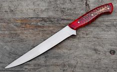 Flexible D2 Steel Blade Fillet Knife D2 Steel, Tool Steel, Fillet Knife, Damascus Steel Chef Knife, Forged Steel, Handmade Knives, High Carbon Steel, Heat Treating, Pine Cones