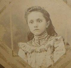 Fayette-Co-Texas-Pretty-Girl-La-Grange-Cute-Portrait-B-W-Photo-Picture