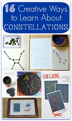 Creative Ways to Learn About Constellations | Space Theme for Kids - Racheous Lovable Learning