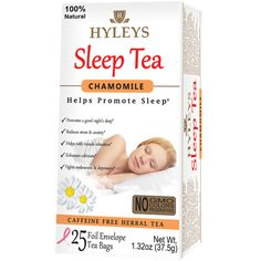 Hyleys Chamomile Sleep Tea can naturally help you fall a sleep better. This gentle, yet fast-acting caffeine-free herbal tea encourages healthy sleep patterns and leaves you feeling refreshed upon waking. Anxiety Help, Stress And Anxiety, Sleep Tea, Green Tea For Weight Loss, Chamomile Tea, Healthy Sleep, Natural Sleep, Tea Blends