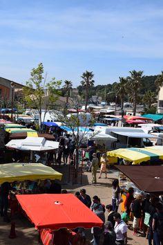 Pâques 2015 jour de marché à Gruissan